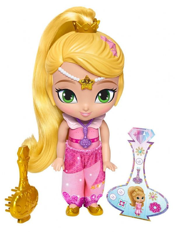 Shimmer and Shine 6 Inch Doll Toy Figure Fisher Price Nickelodeon Zeta Layla